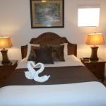 Queen Master Bedroom After Dark